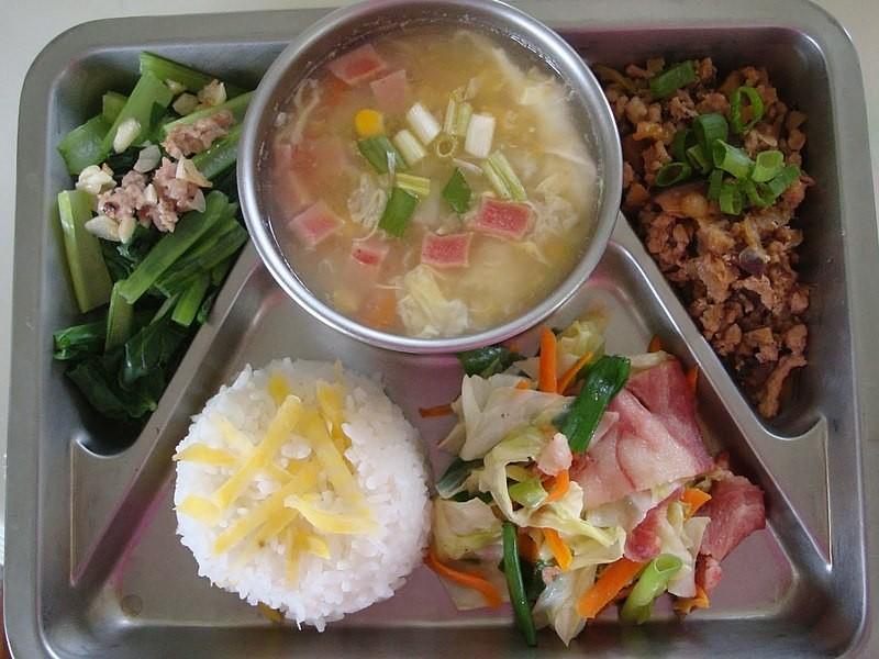 ▲營養午餐。(圖/Wikipedia)