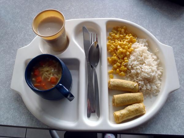 ▲營養午餐。(圖/阿雜提供)