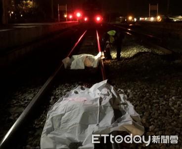 自強號北湖站發生死傷事故!屍塊彈飛西線