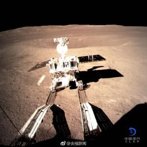 NASA局長祝賀「嫦娥四號」登月背