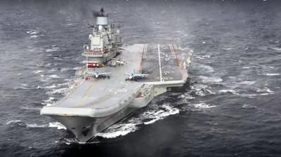 俄羅斯航母「庫茲涅佐夫號」起火3傷