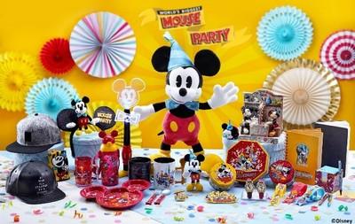來迪士尼參加米奇90歲慶生派對!
