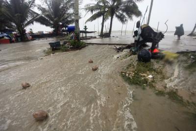輕颱帕布侵襲泰國南部 已知1死