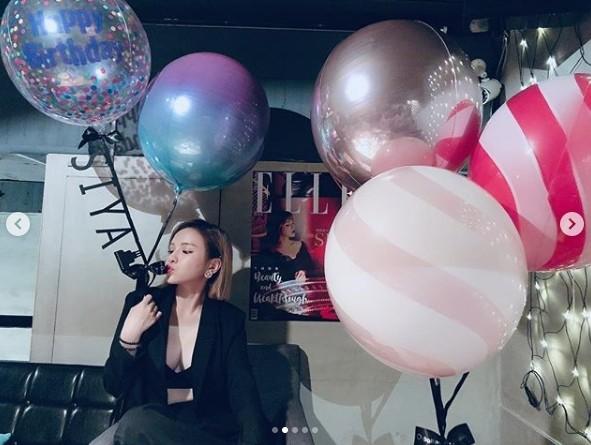 ▲斯亞3日開心迎來26歲生日。(圖/翻攝自斯亞Instagram)