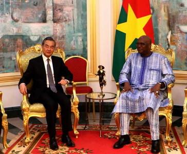 陸外長首訪!布吉納法索總統重身「一中」