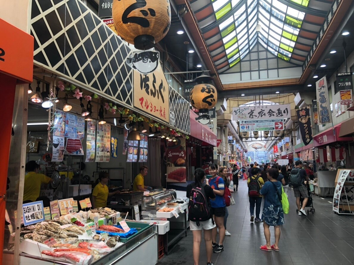 ▲日本,市場,旅遊。(圖/記者吳珍儀攝)