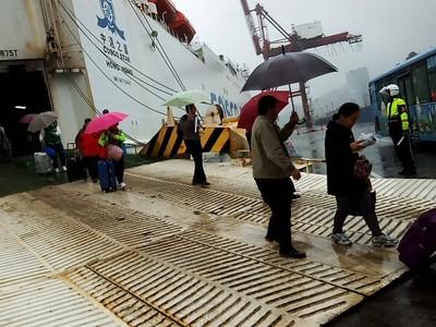 玉環基隆直航十週年 發展貨運物流