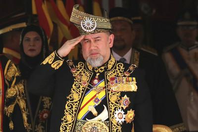 即/馬來西亞蘇丹宣布退位