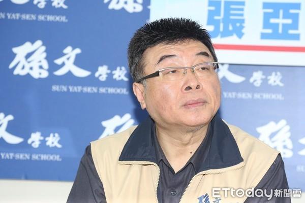 ▲▼張亞中宣布參選總統,邱毅。(圖/記者季相儒攝)