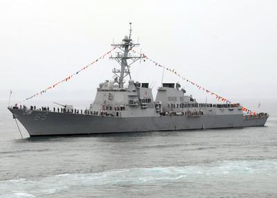 美艦駛進西沙群島海域 陸外交部回應