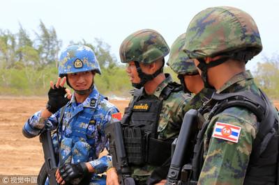 聯合·突擊-2019 中泰共派160人