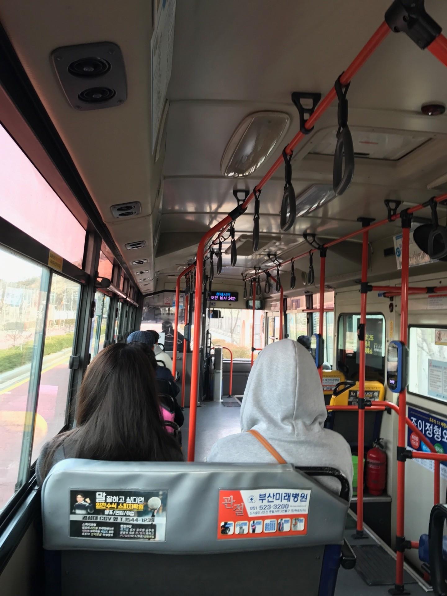 ▲韓國公車。(圖/記者吳珍儀攝)