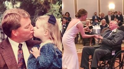 腦癌父與女兒的最後一支舞!新娘推著輪椅跳完 父細語:我很愛妳
