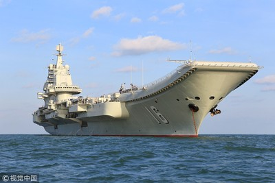 遼寧艦是全球最弱航母?陸回嗆