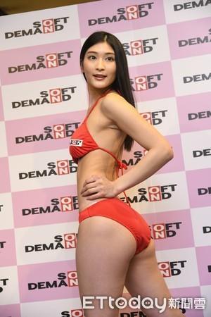 ▲▼av女優 本庄鈴 出席 SOD進軍台灣官方新聞發佈會,橘瑪麗。(圖/記者湯興漢攝)