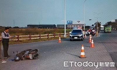 駕車與機車擦撞騎士重傷 循燈號行駛