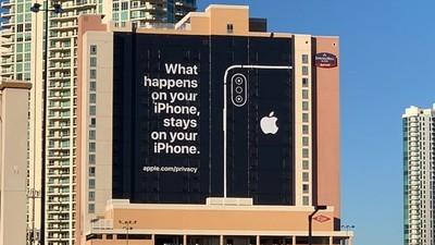 2019 CES蘋果用標語「場外嗆聲」