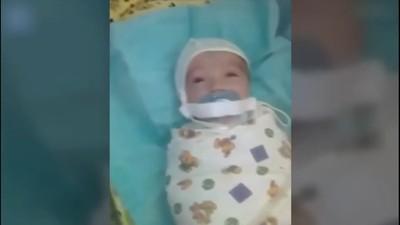 男嬰被「膠帶封奶嘴」 痛苦搖頭發出嗚咽 院方震怒徹查虐嬰真兇