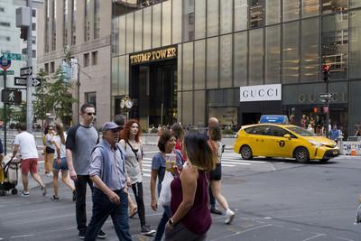 川普大廈前街道被求改名「歐巴馬大道」