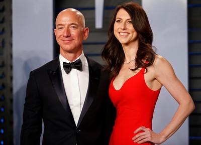 貝佐斯妻離婚「平分財富」拿2兆