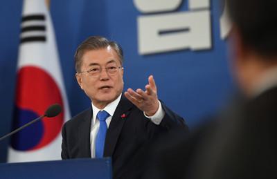 文在寅談川金會:朝鮮半島主人是我們