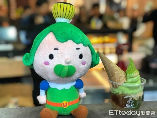 ▲▼微風南山Matcha Prince茶茶小王子(2F),有餅乾的名字是「京都花樣甜品杯」180元(圖/記者陳涵茵攝)