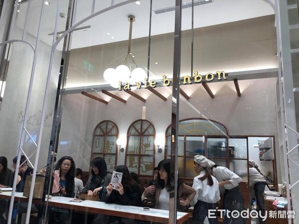 ▲▼微風南山la vie bonbon(2F)標榜嚴選食材的甜點店(圖/記者陳涵茵攝)