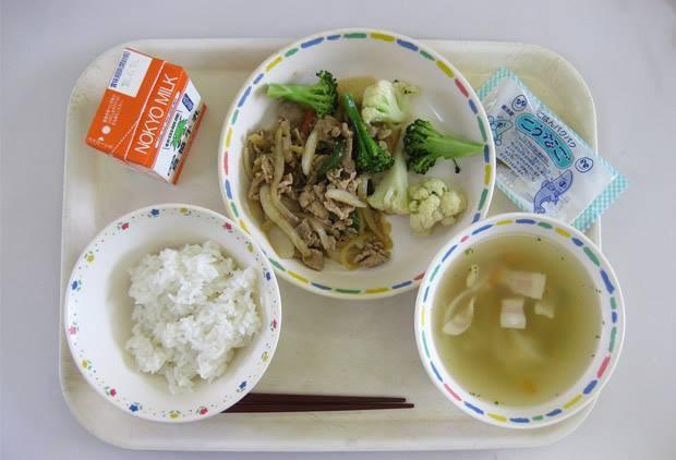 ▲▼日本營養午餐(圖/Wikipedia)