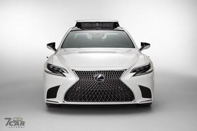 Lexus自動駕駛測試車TRI-P4登場