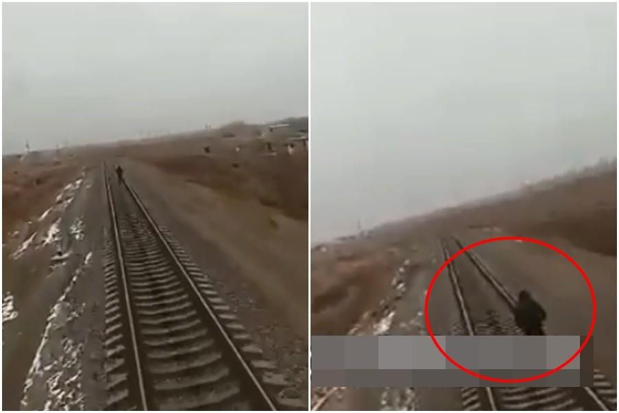 ▲乌兹别克一名少年行走在铁轨上,被火车撞死。(图/翻摄自Эхо Узбекистана脸书)