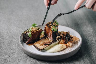 P&T柏林茶館賣牛小排配梅干菜