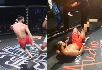 MMA選手反KO自己 18秒畫面嚇壞全場