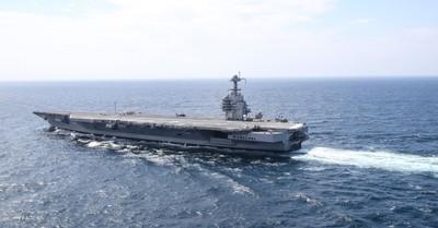新福特號航母返廠大修「延遲交付」