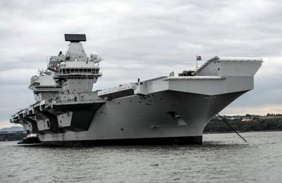 印度想拼第3艘航母 擬複製伊麗莎白女王號