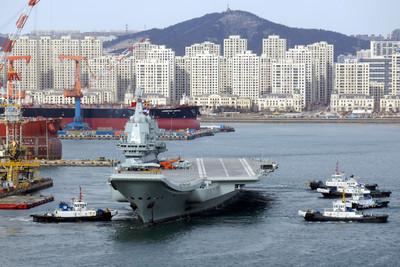 美不排除派航母經台海 國防部:有能力確保安全