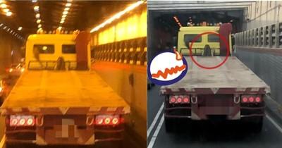 他進過港隧道見「披髮貞子」!