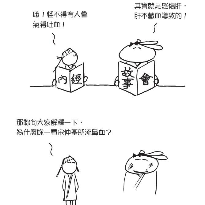 ▲《醫學就會:漫畫基礎中醫》肝臟血7 。(圖/時報出版提供)