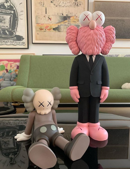 ▲dior x kaws。(圖/翻攝自Kim Jones、Kaws IG、Dior)