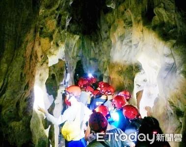 石洞探險 學員冒險體驗完登