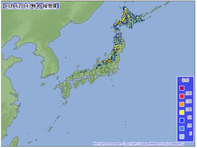 比去年晚12天!東京都心終於降初雪