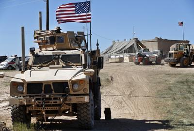 美軍開始移出敘利亞軍備