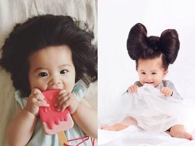 炸毛寶寶成為「最年輕潘婷大使」