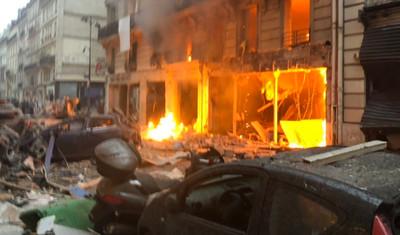 巴黎驚傳爆炸巨響 至少20傷
