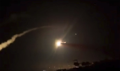 敘國控以國夜襲大馬士革 飛彈擊中機場倉庫