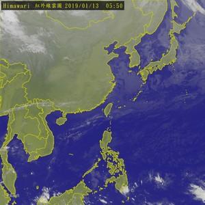 北台陰涼明起好轉 下週三再降溫