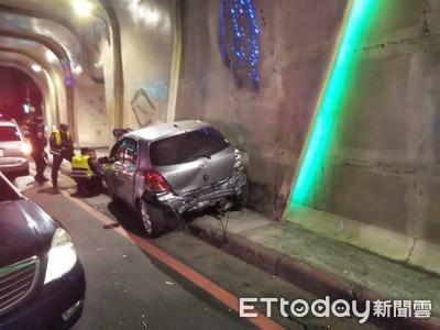 酒駕撞警車逃逸惹到「霹靂小組」GG了