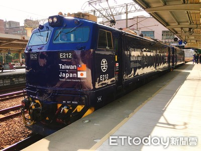 台鐵南海電鐵彩繪列車亮相1/16上路