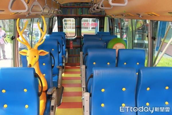 ▲▼宜蘭幾米公車。(圖/宜蘭市公車)