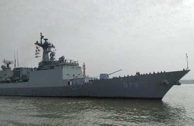 韓國2軍艦訪問上海 將與中方驅逐艦聯合演習