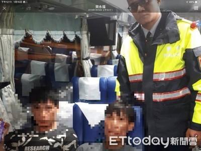 警攔車揪逃逸外勞 客運駕駛以為違規了